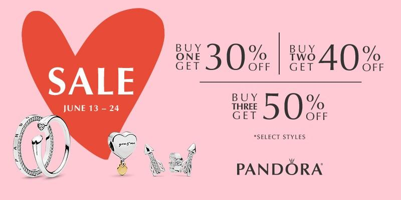 June Clearance Event from PANDORA