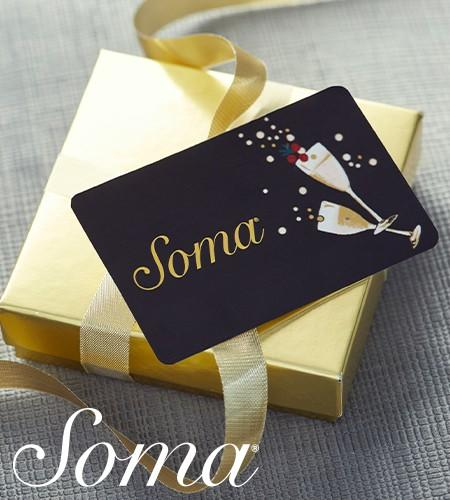 Soma Giftcard Bounceback from Soma By Chico's