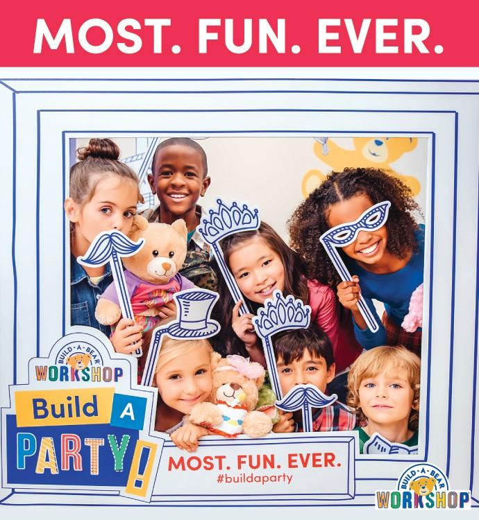 Build-a-Party from Build-A-Bear Workshop
