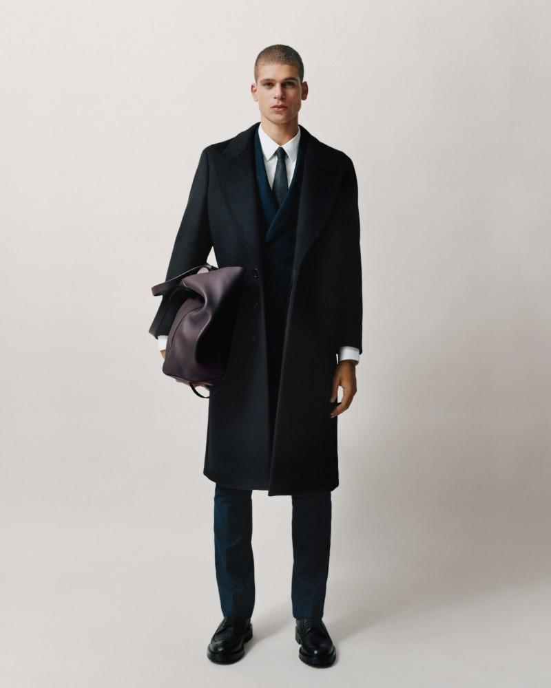 men wearing Burberry suits