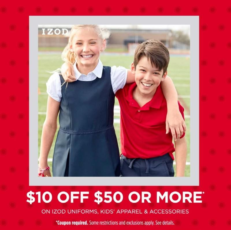 $10 Off - Back to School