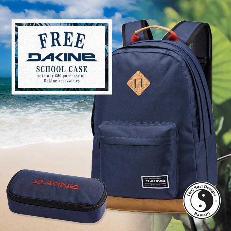 Free Dakine School Case from T&C Surf Designs