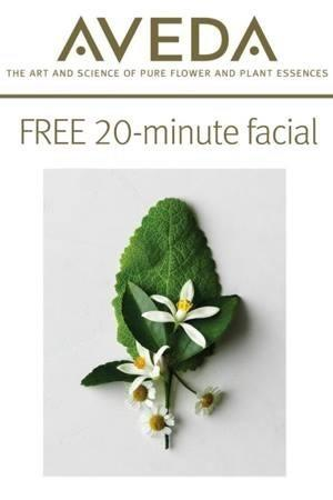 FREE 20-minute facial