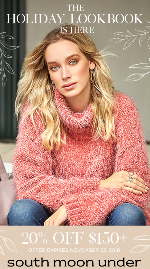 The Holiday Look Book is here from South Moon Under