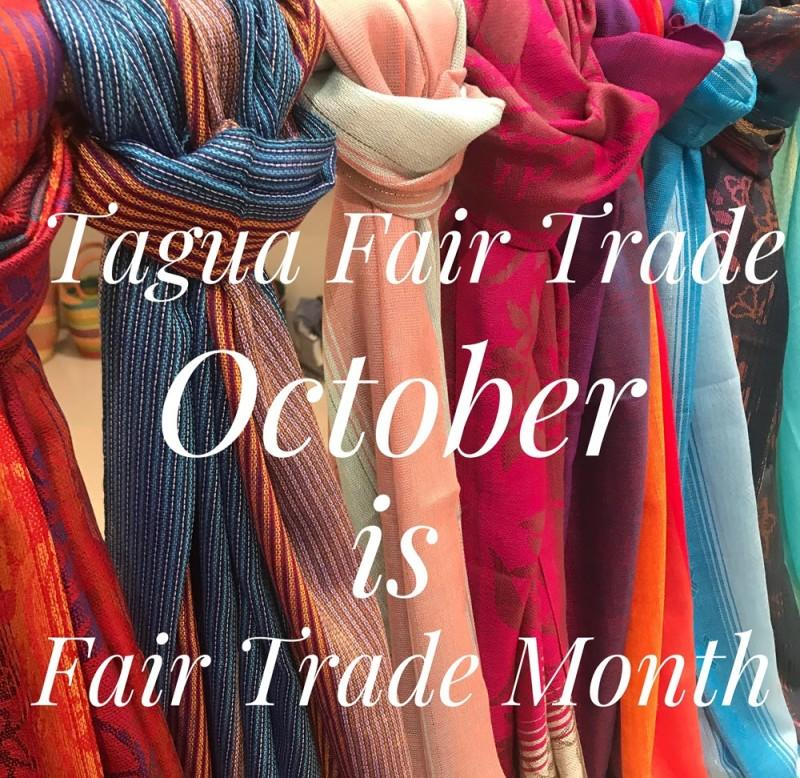 It's Fair Trade Month, Show Your Support! from Tagua