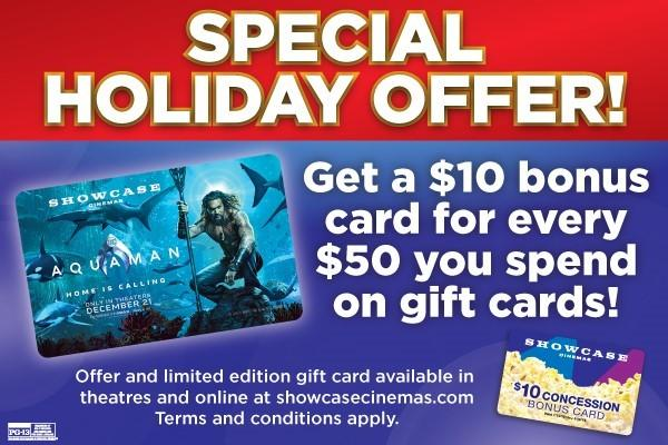 SPECIAL HOLIDAY OFFER! from Providence Place Cinemas 16