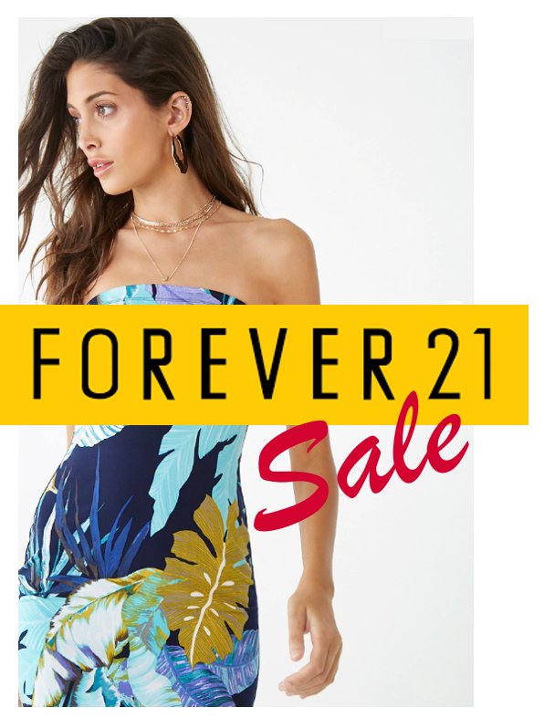 Extra 50% off from Forever 21