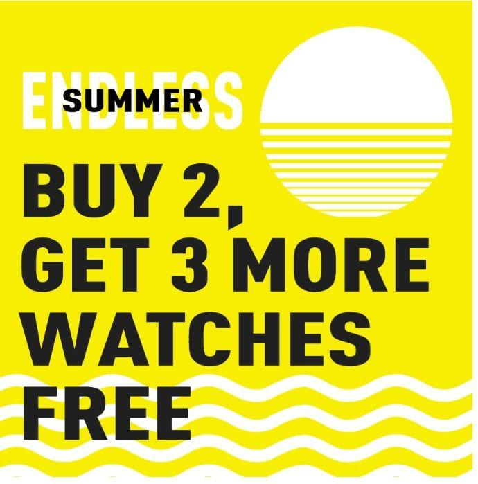 Endless Summer Sale from Invicta