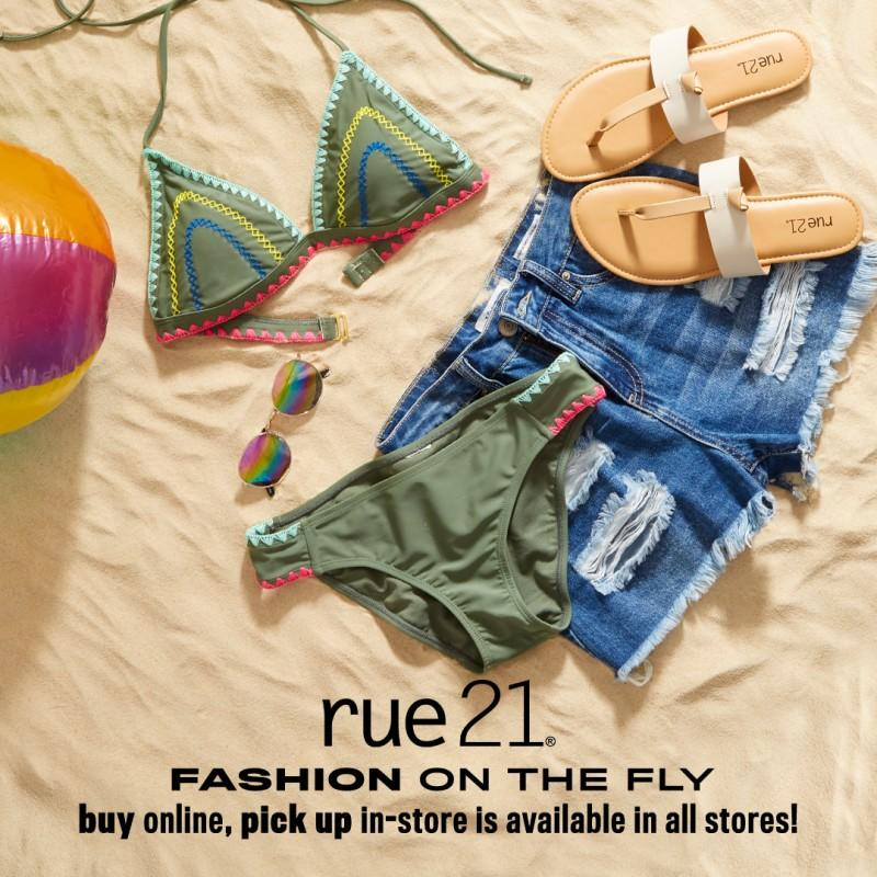 Fashion on the Fly: Skip the Line by Ordering Online! from rue21