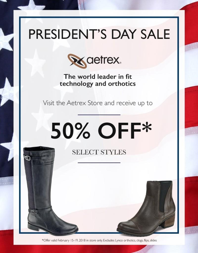 50% Off from Aetrex
