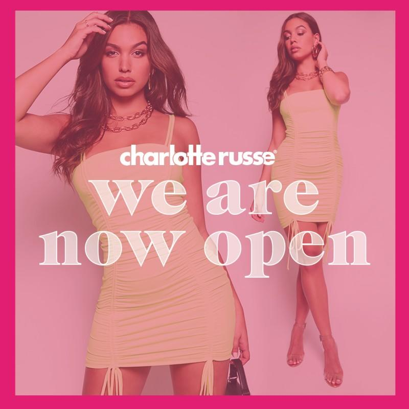 We're Back! from Charlotte Russe