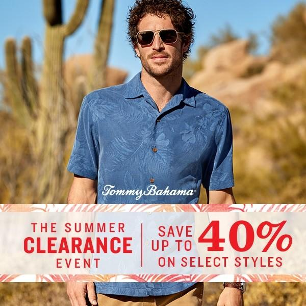 Sale from Tommy Bahama