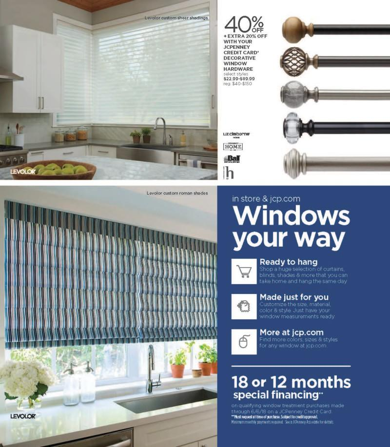 Windows your way from JCPenney