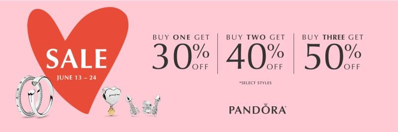 Sale June 13-24 from PANDORA