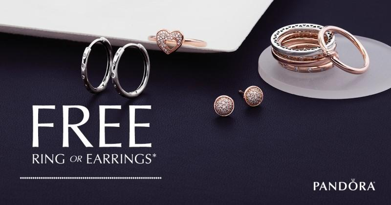 October Free Ring or Earrings With $100 Purchase