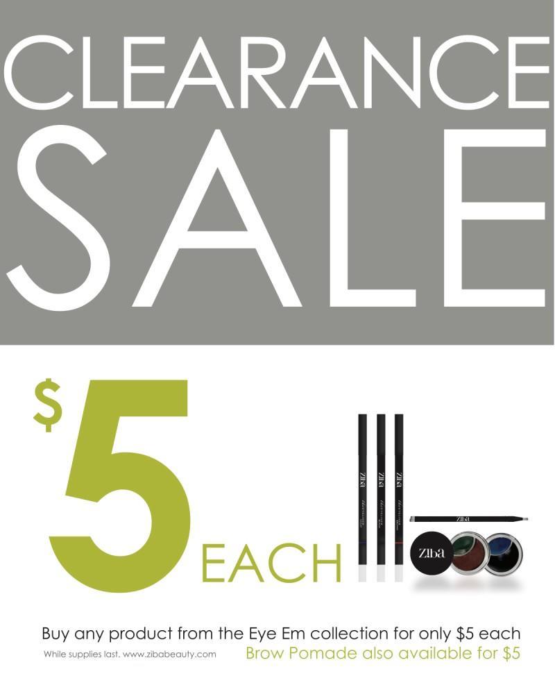 e5e9892304af5f Clearance Sale from Ziba Beauty