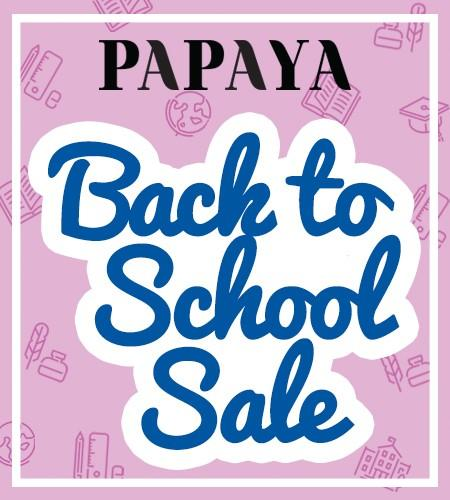 PAPAYA'S Back To School Sale!