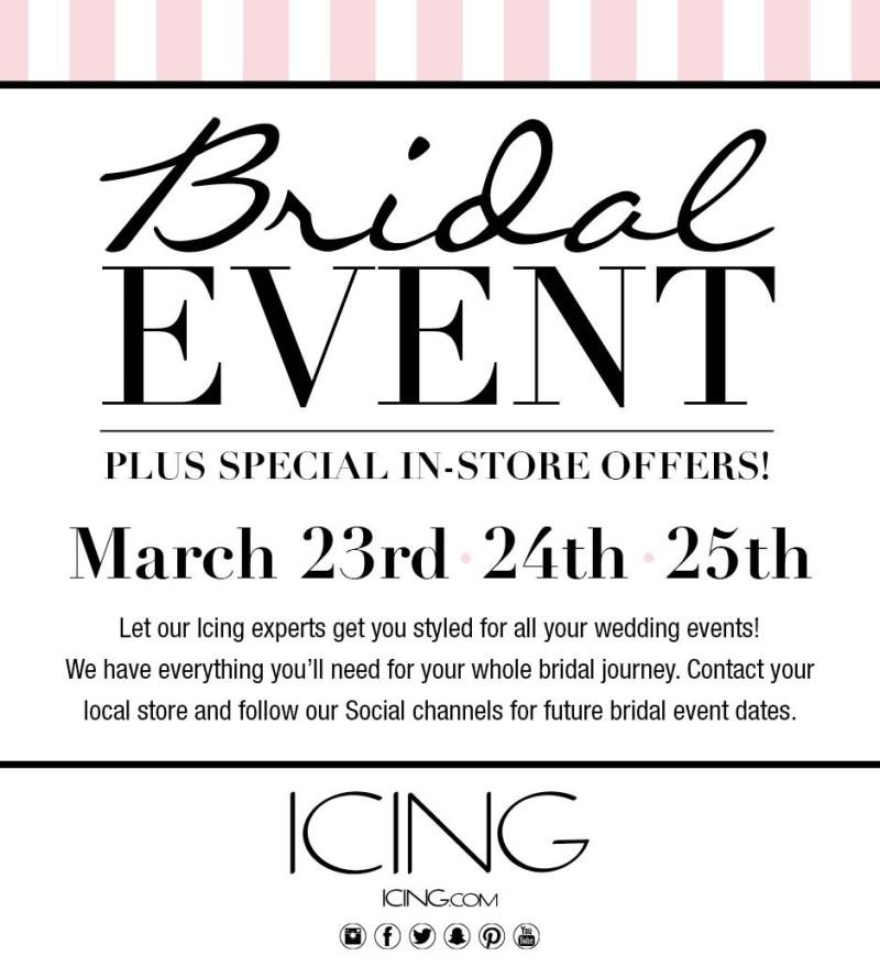 Bridal Event from icing