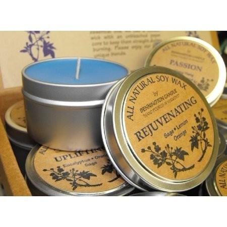 Natural Aromatherapy Candles from Sheer Treasures