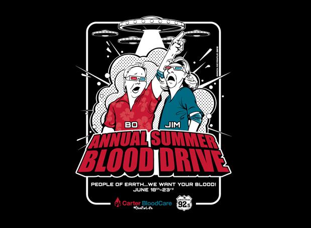 Lone Star 92.5 Annual Summer Blood Drive
