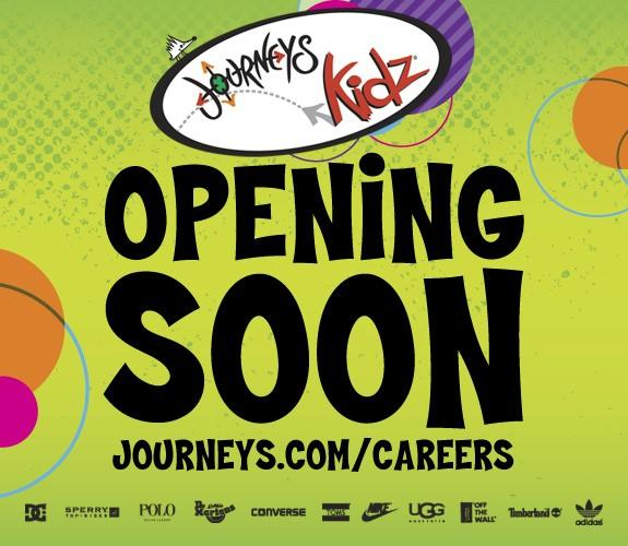 Journeys Kidz Coming in December to Pembroke Lakes Mall! from Journeys Kidz