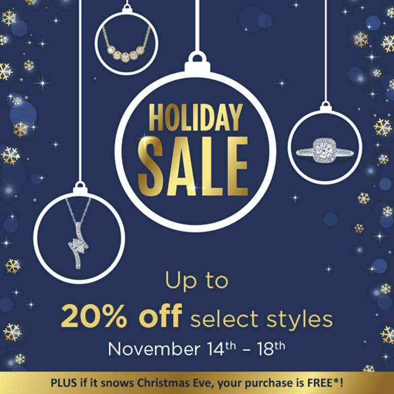 Holiday Sale from Michaels Jewelers