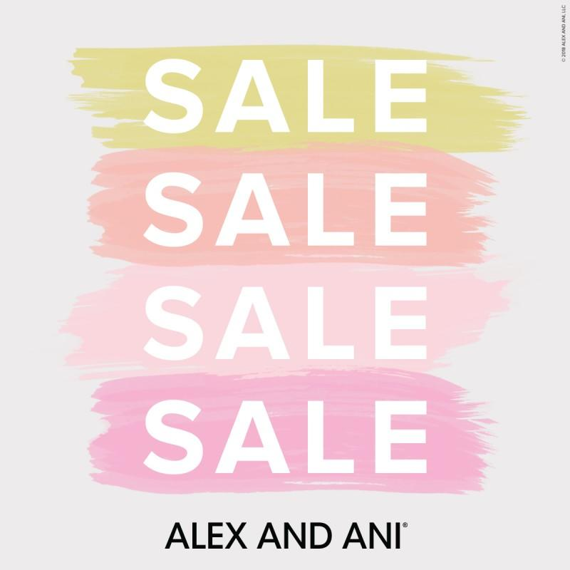 Sale from ALEX AND ANI