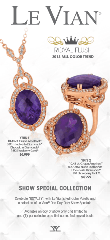 LeVian Trunk Show from macy's
