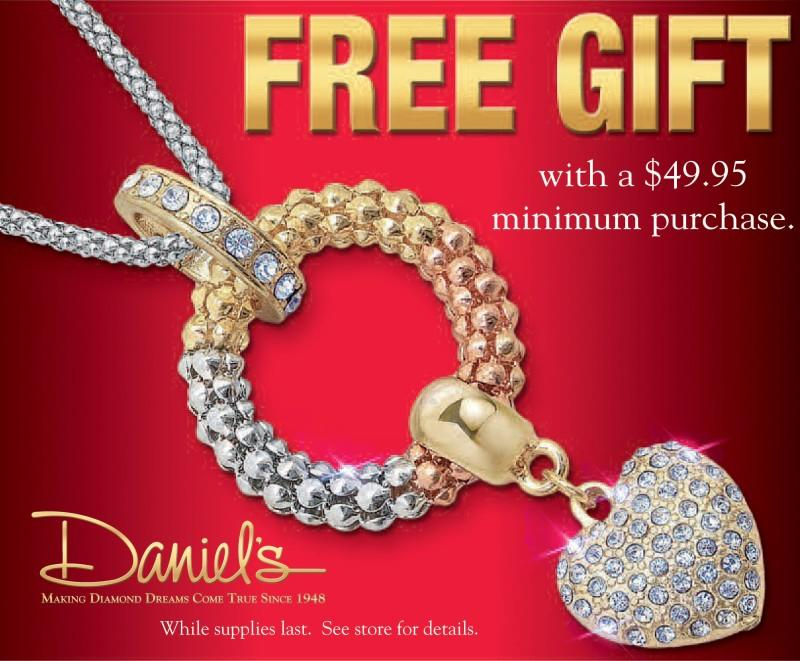 Free Gift from Daniel's Jewelers
