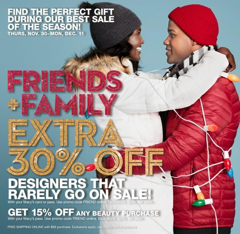 Friends + Family EXTRA 30% OFF