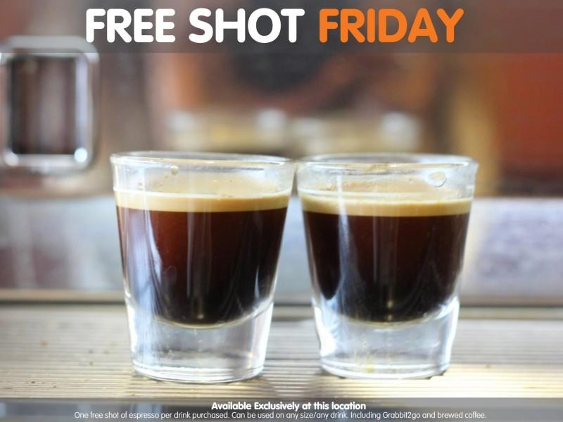 Free Shot Friday