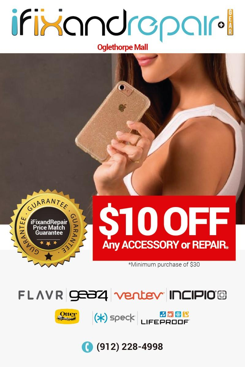10% Off from Ifixandrepair + Gear