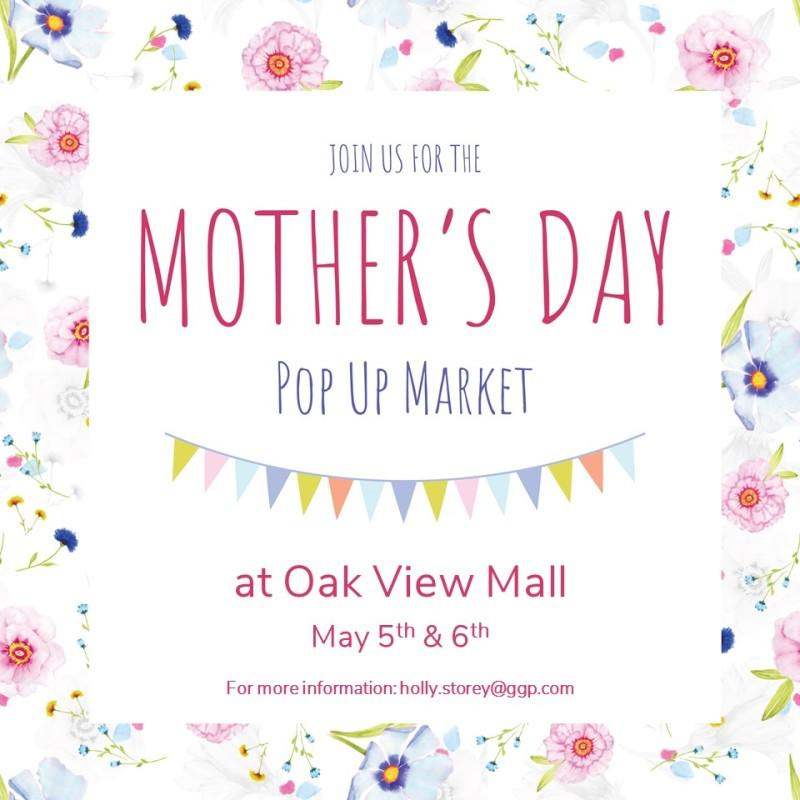 Mother's Day Home Based Business/Pop-Up Event