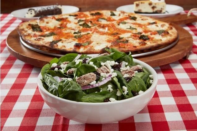 Special Menu from Grimaldi's Coal Brick Oven Pizzeria