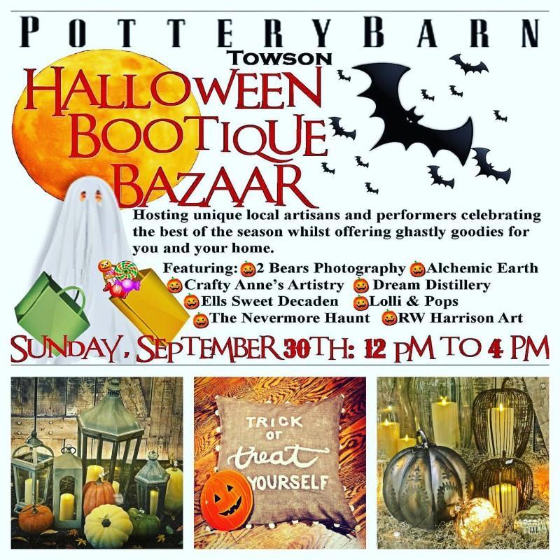 halloween bootique bazaar