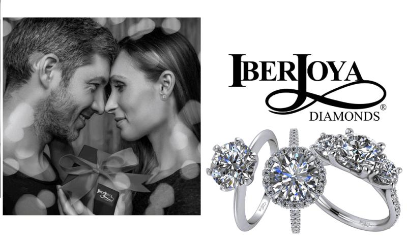 Image of couple and IberJoya diamonds
