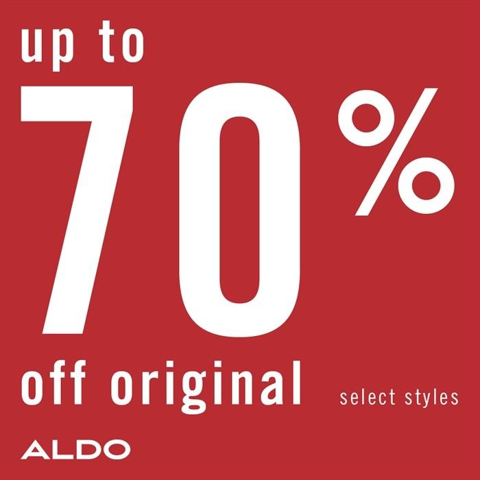 Up to 70% off from ALDO Shoes
