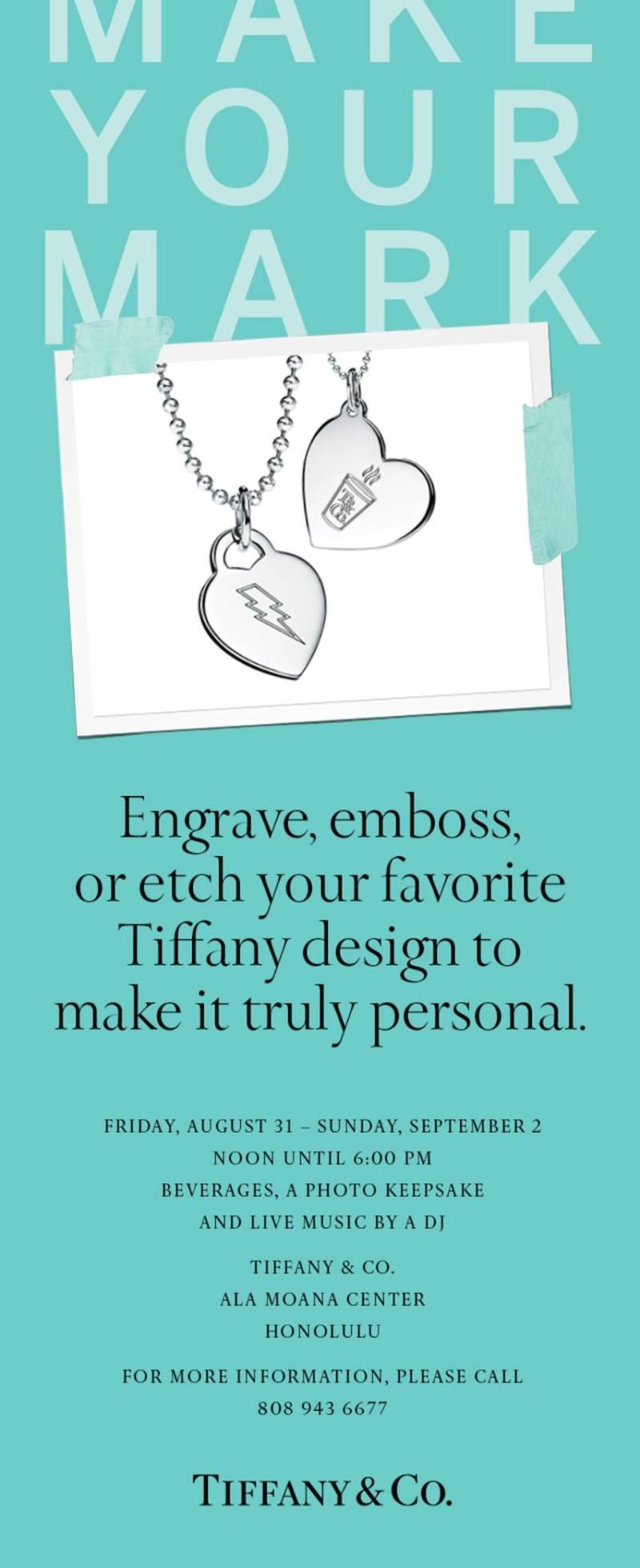 Make Your Mark from TIFFANY & Co.