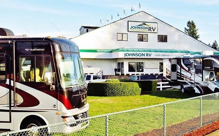 Johnson RV Tent Sale
