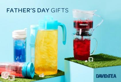 Father's Day Gifts from DAVIDsTEA
