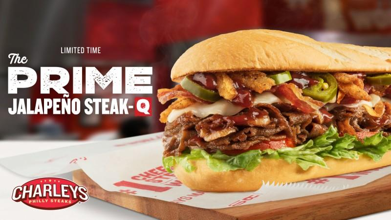 New LTO Prime Jalapenos Steak from Charleys Philly Steaks