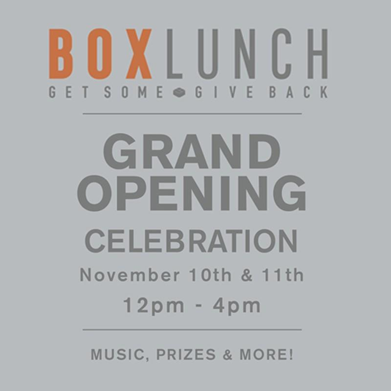BoxLunch Grand Opening