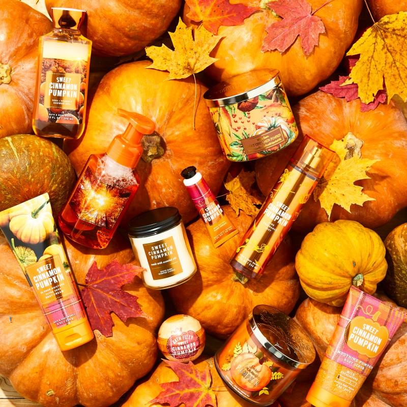 Pumpkin Season at Bath & Body Works! from Bath & Body Works/White Barn