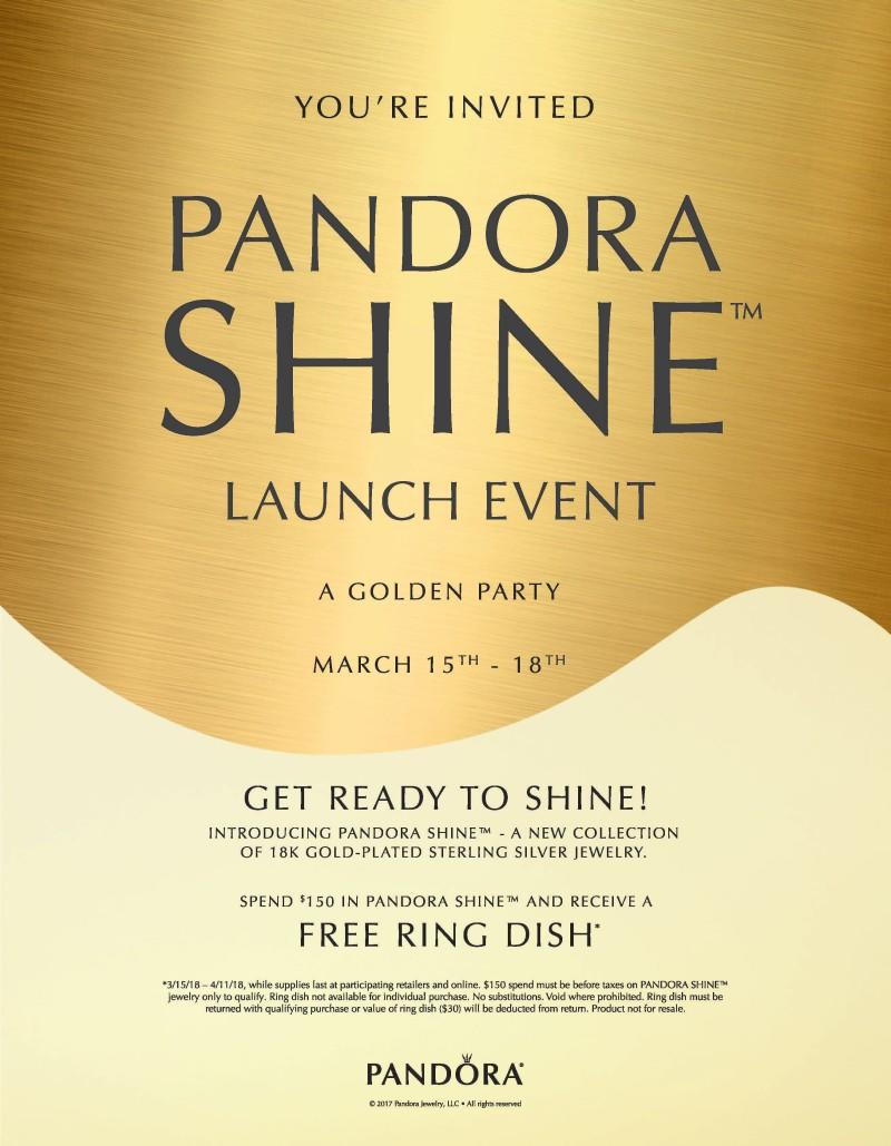 Pandora SHINE Launch Event