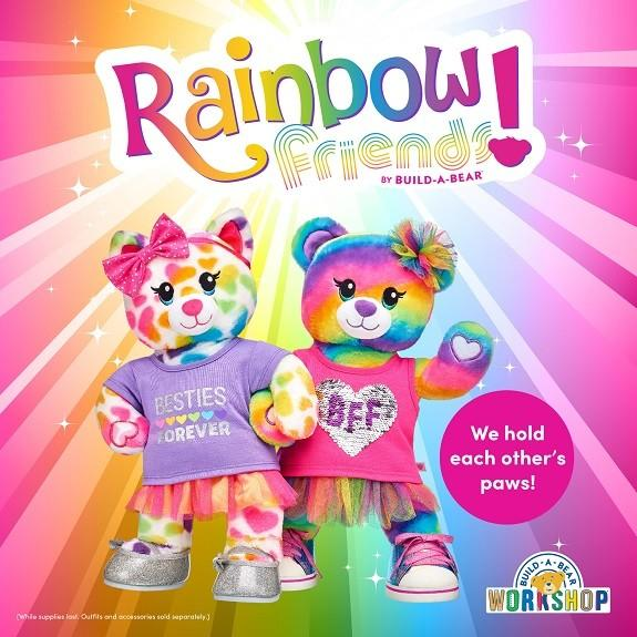 Meet The New Rainbow Friends Collection from Build-A-Bear Workshop