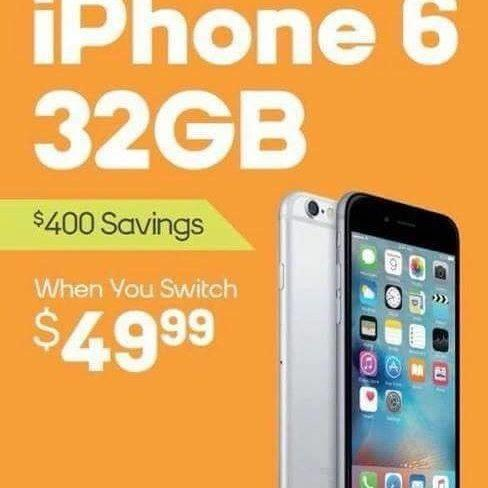 iphone 6 32GB from Boost Mobile