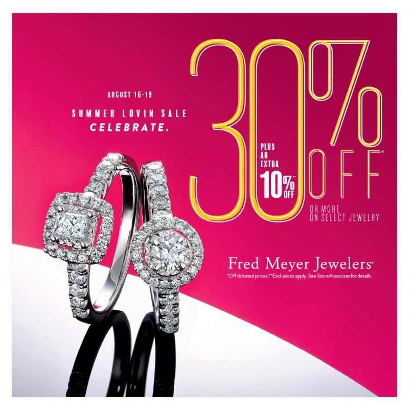 Summer Lovin' Sale! Celebrate from Fred Meyer Jewelers