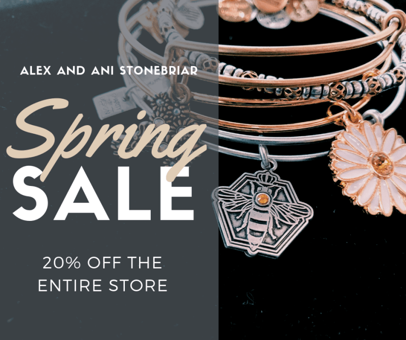 Spring Sale from ALEX AND ANI