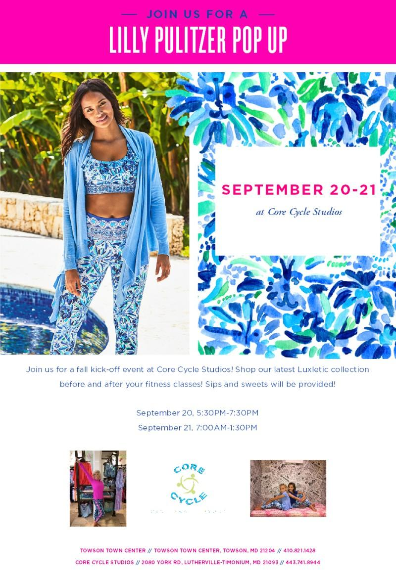 Core Cycle Studios and Lilly Pulitzer