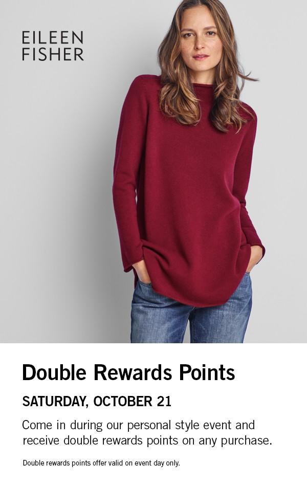 Double Rewards Points